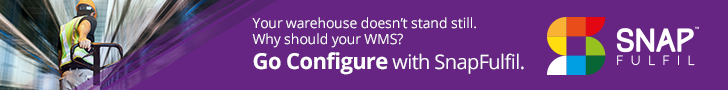 Your warehouse doesn't stand still. Why should your WMS? Go Configure with SnapFulfil.